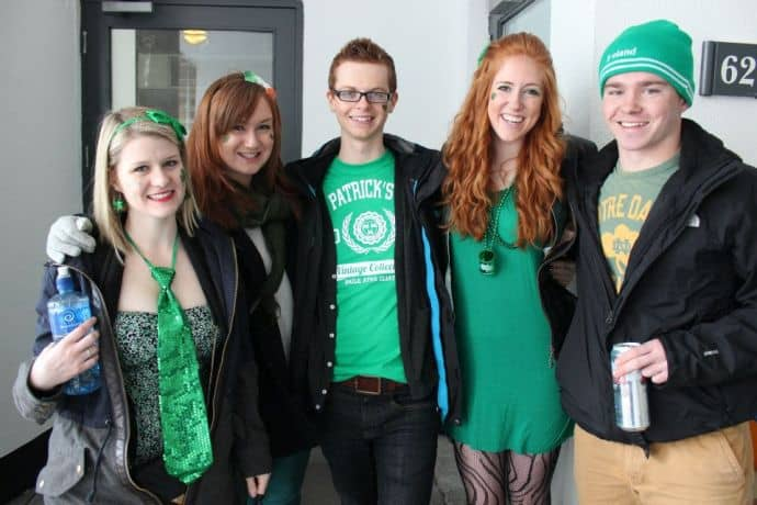 gingers on st patrick's day