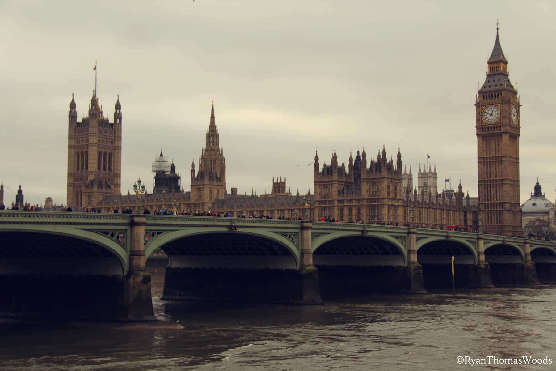 Parliament Buildings & Big Ben, London, England