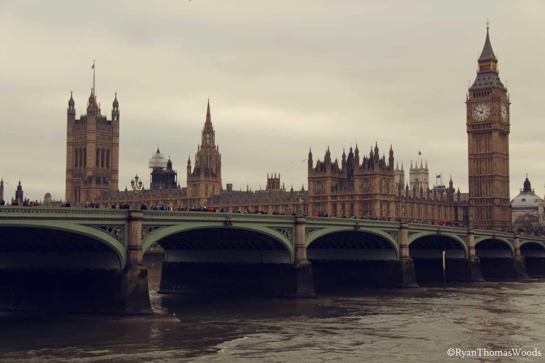 Parliament Buildings & Big Ben, London, England