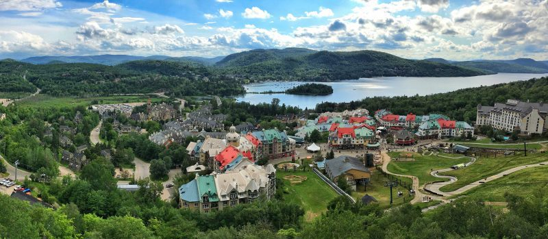 mont tremblant views