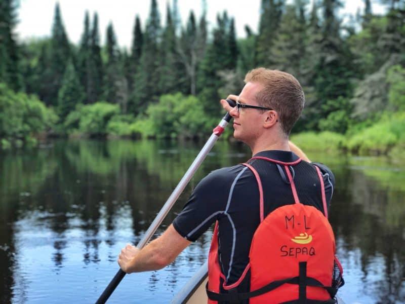 mont tremblant canoeing