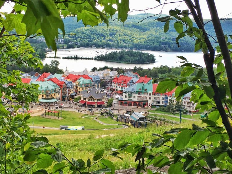 beautiful mont tremblant