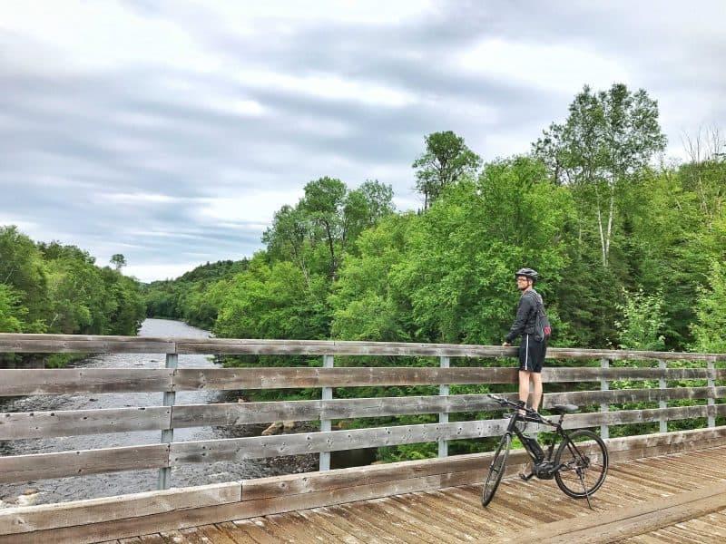 biking mont tremblant