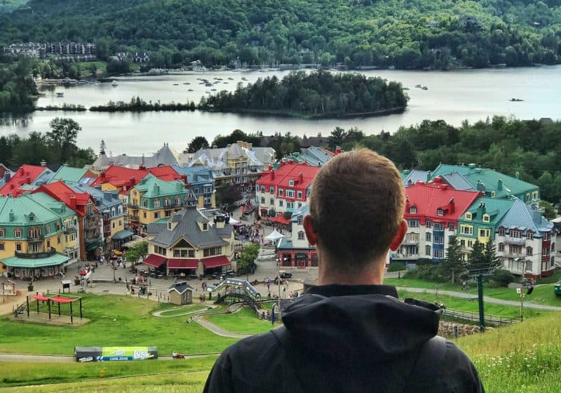 top of mont tremblant
