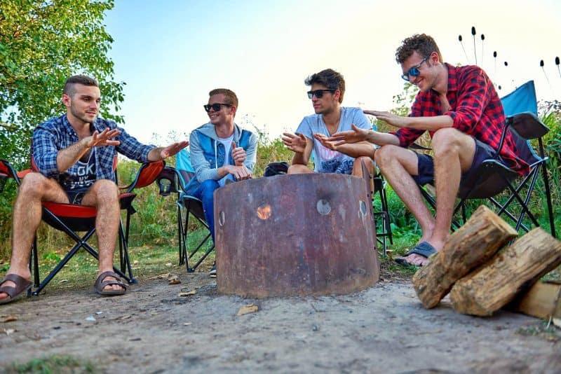 gays camping