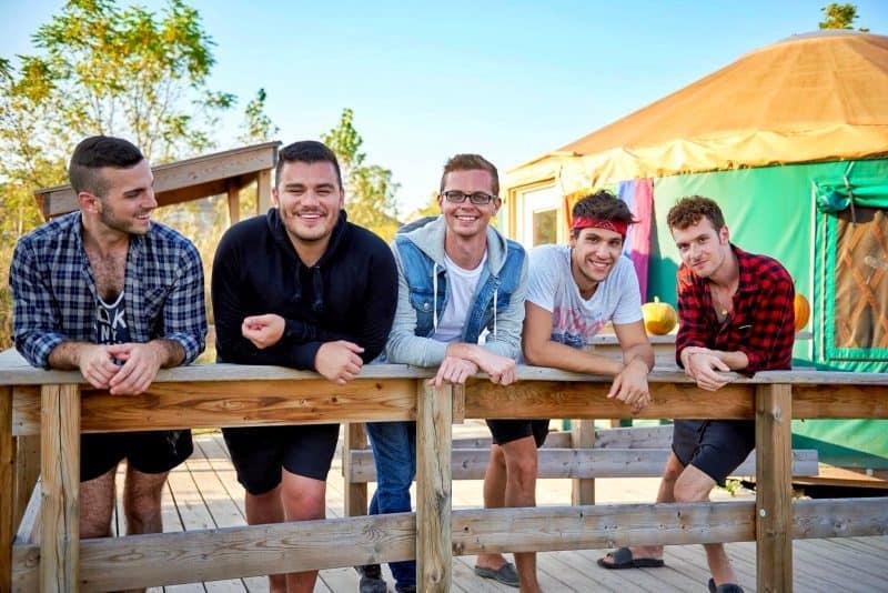 group of cute gays
