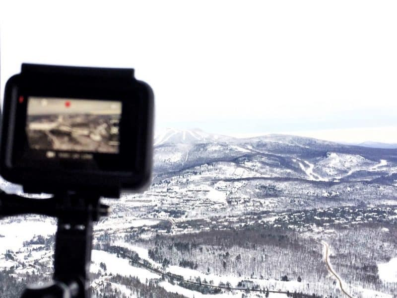snowmobiling mont tremblant