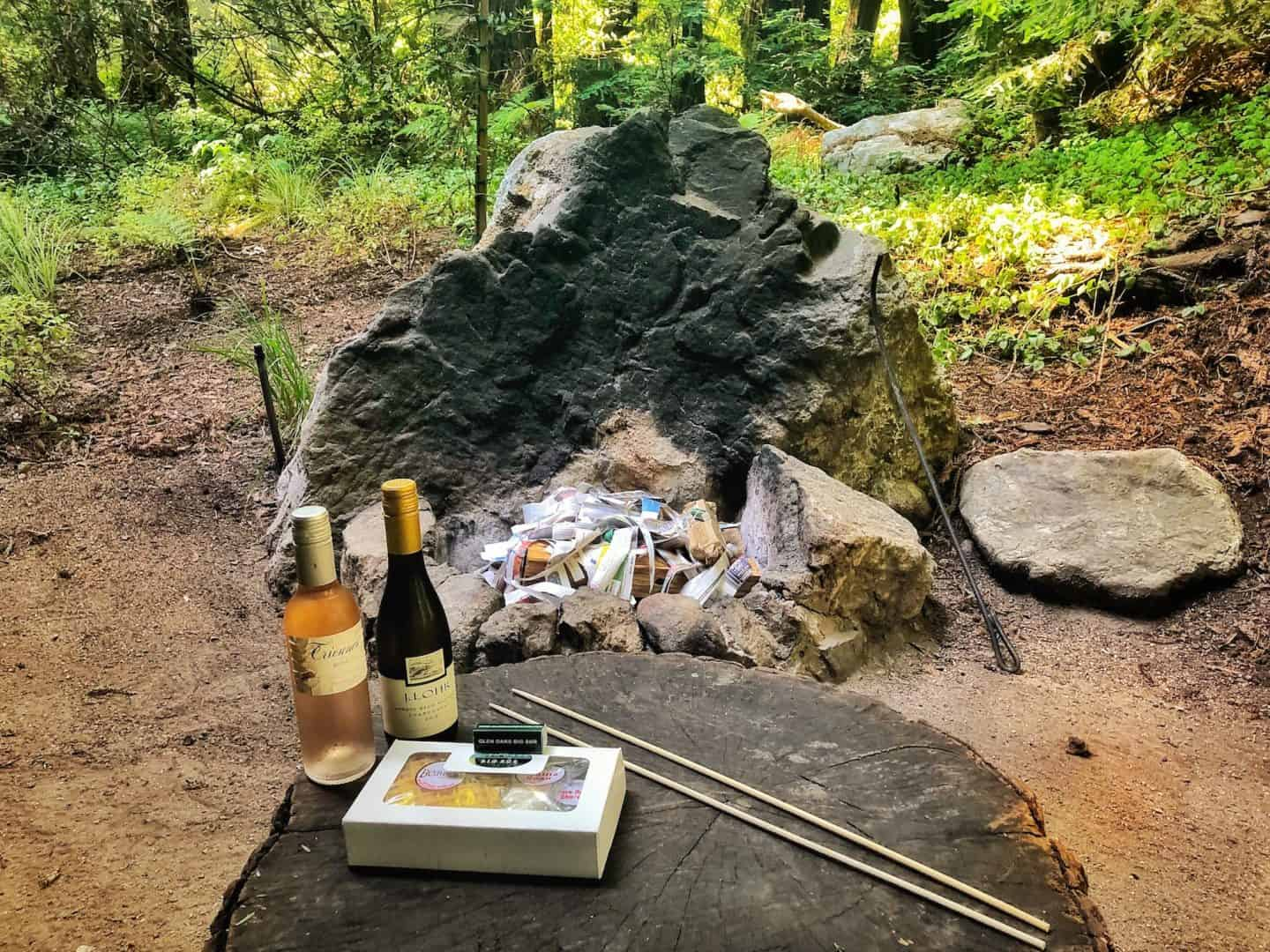 glen oaks big sur firepit