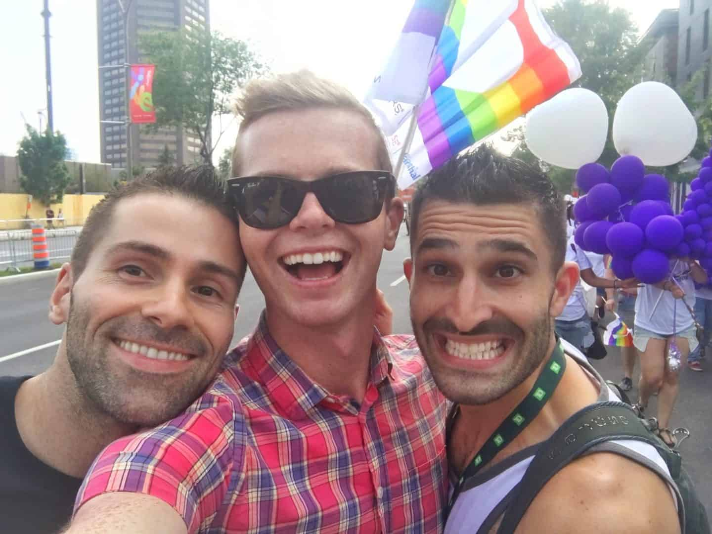 Gay Montreal Pride Parade
