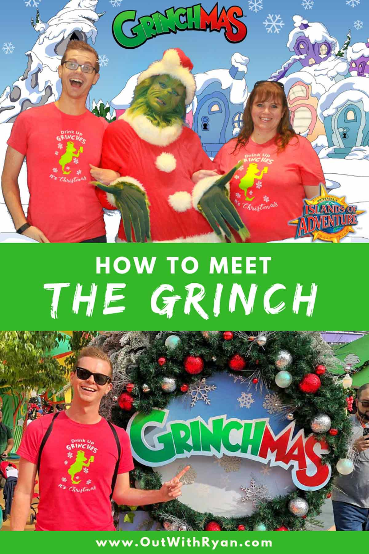 How To Meet The Grinch At Universal Orlando Resort