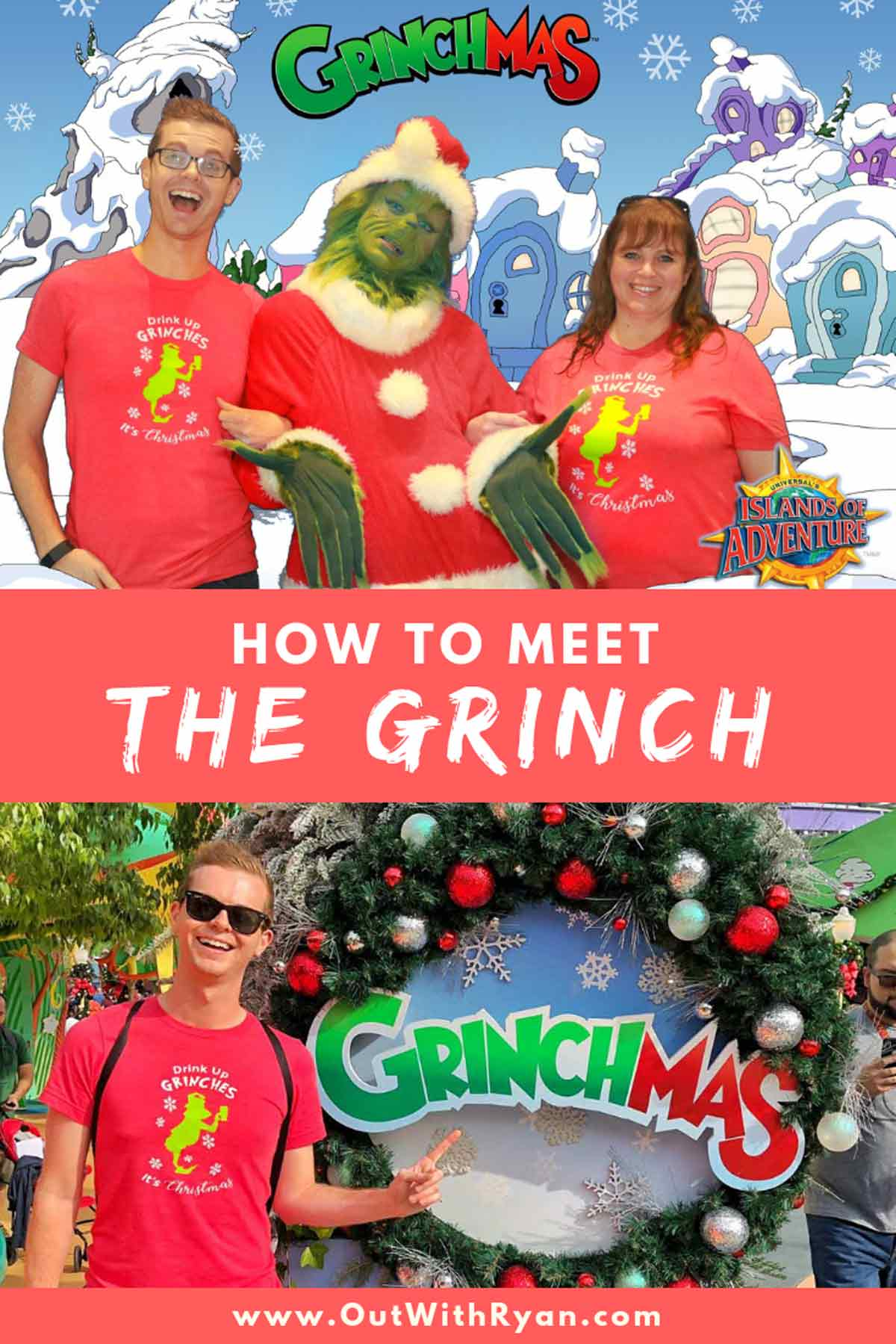 How To Meet The Grinch At Grinchmas