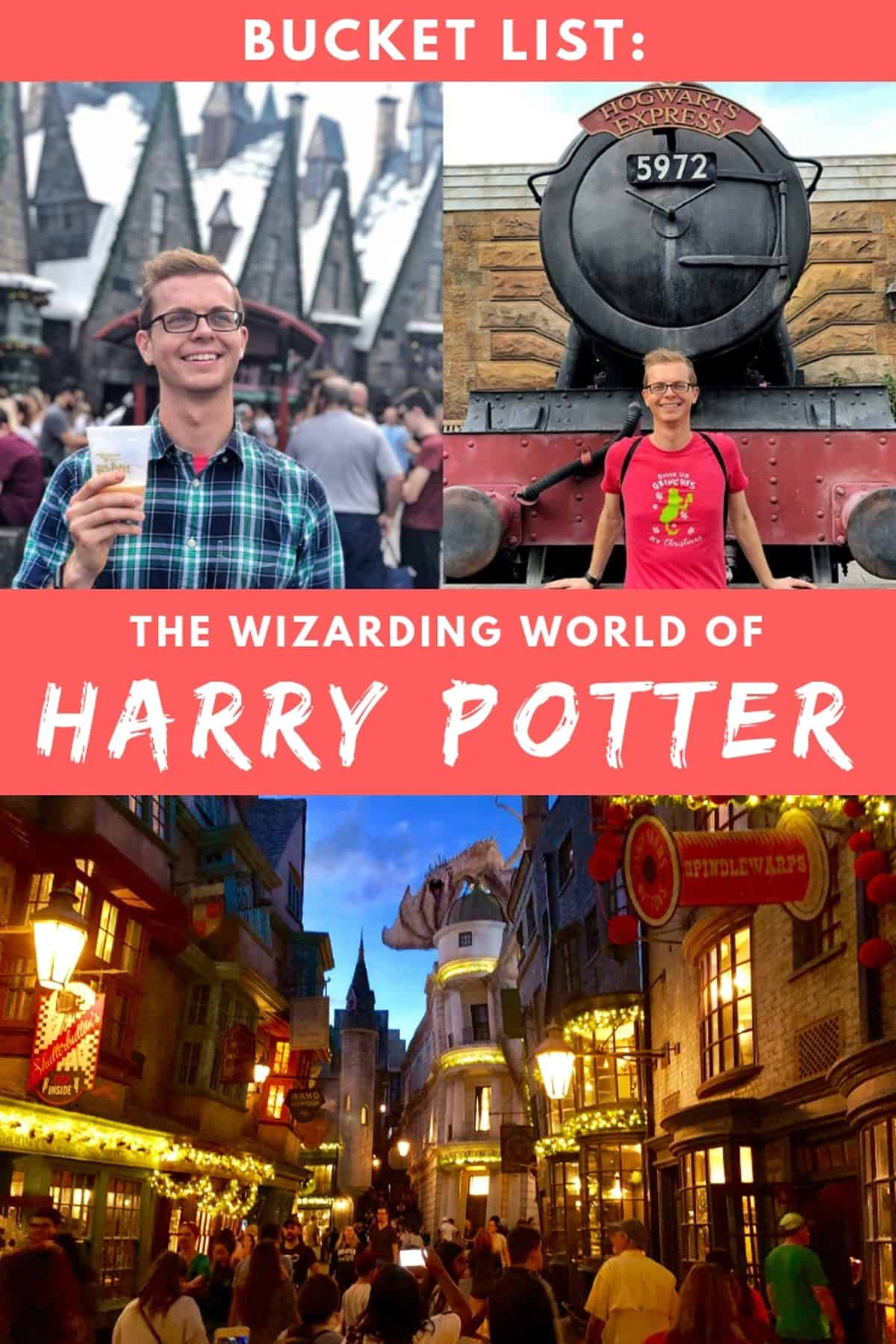 Harry Potter Bucket List: Visit Wizarding World at Universal Orlando Resort