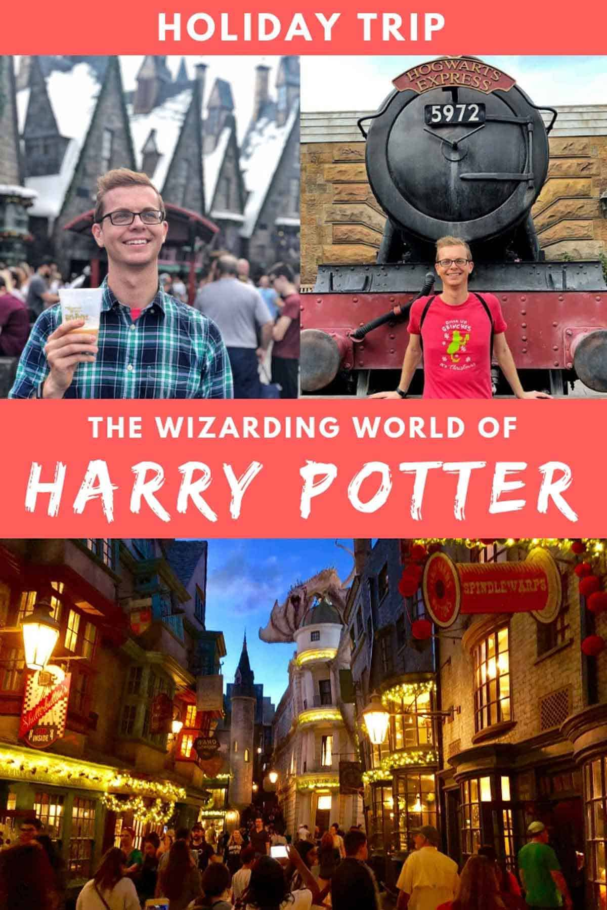 Holiday Trip to Wizarding World at Universal Orlando Resort