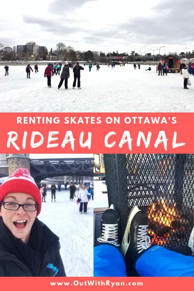 Where to Rent Skates on Ottawa's Rideau Canal