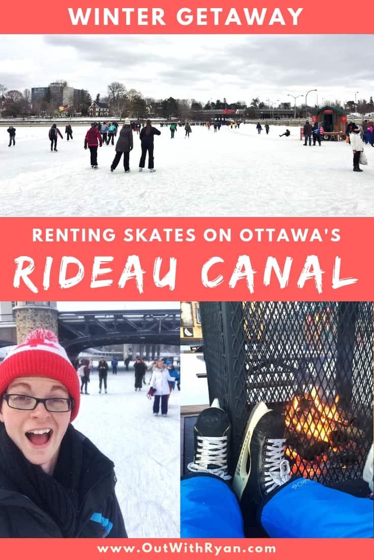 Skating on Ottawa's Rideau Canal Pinterest