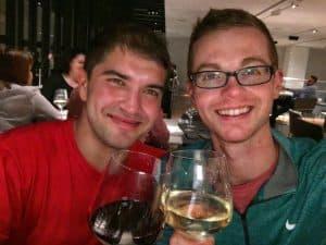gay wine tasting