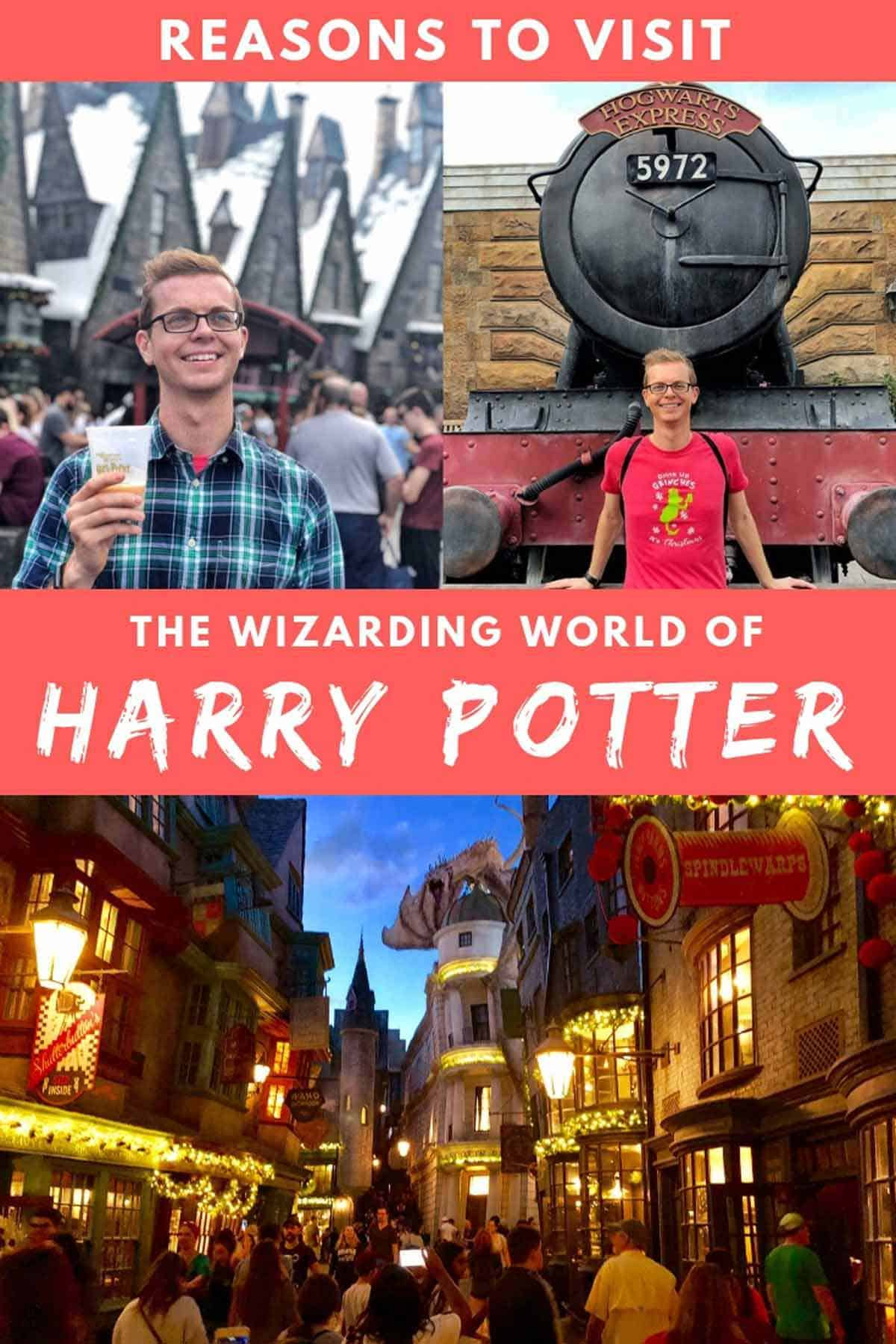Reasons to Visit Wizarding World at Universal Orlando Resort