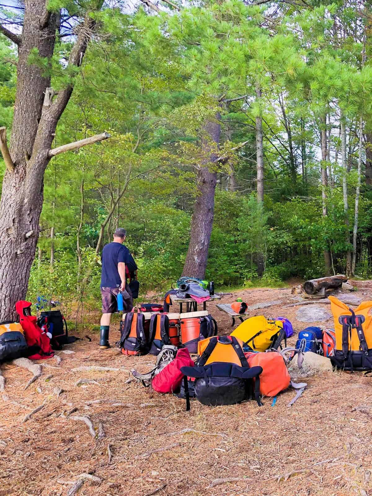 camping equipment kawartha highlands