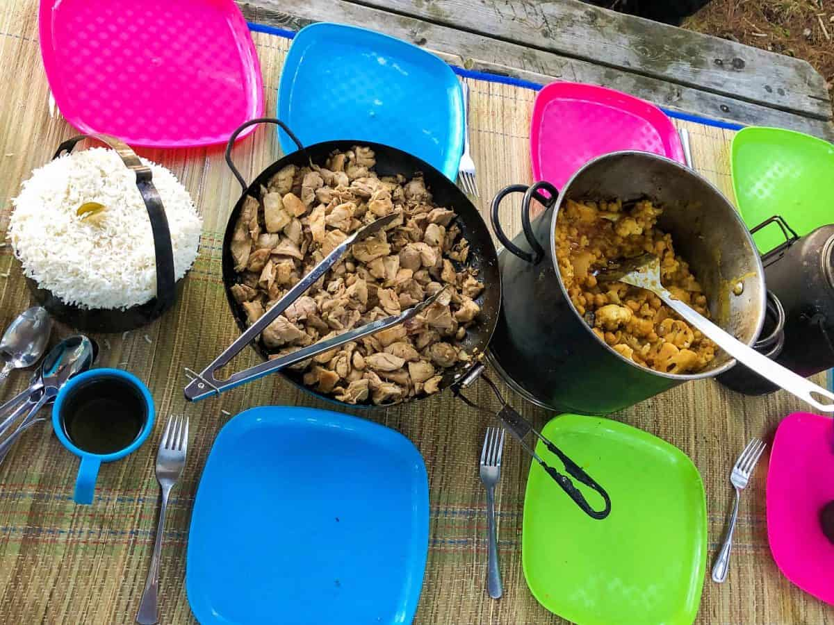 delicious camping food