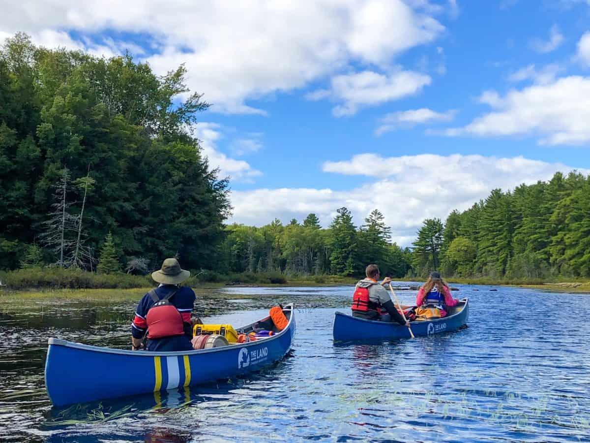 kawarthas canoeing