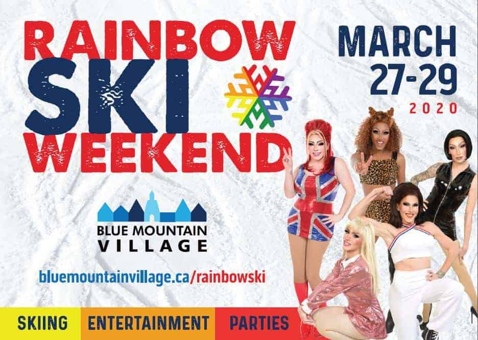 Rainbow Ski Weekend Blue Mountain 2020